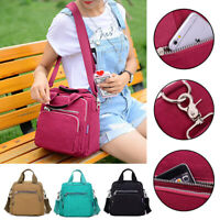 Women Anti-theft Shoulder Bag Nylon Waterproof Backpack Handbag Ladies Rucksack