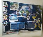 Transformers Cybertron Earth Planet Map Evac Starscream Dark Scorponok Jetfire