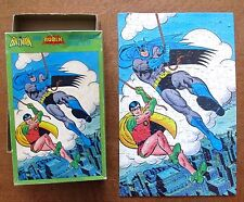 BATMAN ROBIN 200 piece Box Puzzle, Complete, 1981, DC Comics, Jigsaw, Boy Wonder