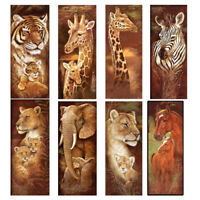 5D DIY Full Drill Diamond Animal Painting Lion Cross Stitch Embroidery Mosaic