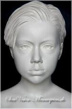 BONAMI Schaufensterpuppe 112 cm Weiß Schaufensterfigur Kind Mannequin Junge (22)