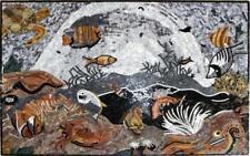 Underwater Scene Mural Art