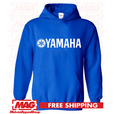 YAMAHA RACING HOODIE BLUE YZF R1 R6 YFZ BANSHEE Moto Hooded Sweatshirt Factory