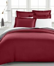 Charter Club Damask Solid Duvet Cover 500 Thread Count King Bedding Retail $200