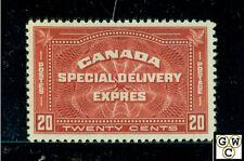 Canada E4  XF , M.L.H 20ct Stamp Catalog value $100