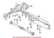 For BMW Genuine CV Axle Assembly Rear Right 33207581030