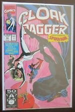 Cloak and Dagger guest starring spider-man #17 8.0 VF (1991)