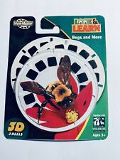 Look & Learn Bugs and More View-Master Reel Set - 027084560893 - **New**