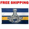 ST. LOUIS BLUES 2019 Stanley Cup Finals Champions Dorm Tailgate 3x5 Flag Banner