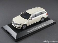 1/43 Kyosho Mercedes Benz E-Klasse T-Modell (W212) 2013 Diamantweiß met. 141063