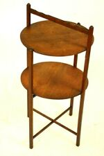 Vintage Oak 2-tier Cake Stand - FREE Shipping [5489]