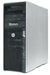 12-Core HP Z620 Workstation Xeon E5-2696v2 64GB ram 256GB SSD quadro K2200 W10 B