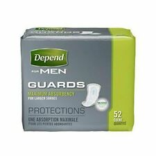 Depend Incontinence Guards for Men - 52 Pack