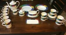 Mikasa Currents M5101 Dinnerware Serving Host Coffee Butter Gravy Mugs Sugar NEW