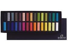Rembrandt Artists Soft Pastel Set - Half Size Pastels - 30 Colours