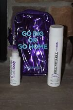 PAUL MITCHELL TRAVEL BAG INCLUDES EXTRA BODY DAILY RINSE 10.14 OZ DAILY BOOST