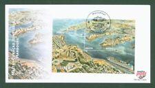 Echte Ersttagsbrief-Briefmarken aus Malta
