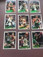 1994-95 Fleer Basketball Team Set: Boston Celtics - Robert Parish