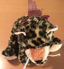 "Mary Meyer Flip Flops Floppy Leopard Plush 12"""