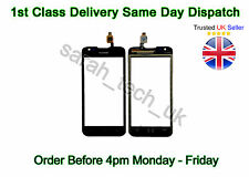 NUOVO ORIGINALE HUAWEI ASCEND Y550 Y 550 touch Digitizer Screen Glass Lens Pad Nero