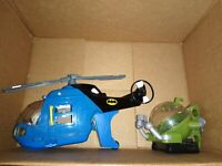 Fisher Price Imaginext DC Batman Helicopter Vehicle No figures