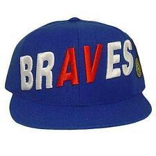 Atlanta Braves Baseball  Fitted Hat Cap
