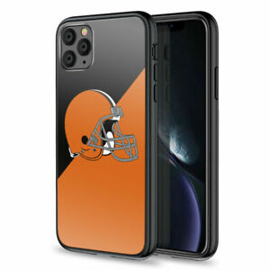 Cleveland Browns For iPhone 12/11/Pro/Max/XS/XR/X/8/7 Shockproof Case Covers
