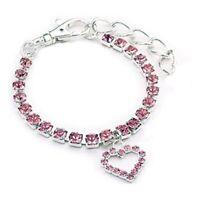 Cat Dog Diamonds Leash Adjustable Puppy Collar Necklace Dog Collar Pets Supplies