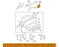 VW VOLKSWAGEN OEM Glove Compartment Box-Grip Handle Cap Right 1C1857628B62J