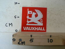STICKER,DECAL VAUXHALL RED LOGO CAR AUTO A
