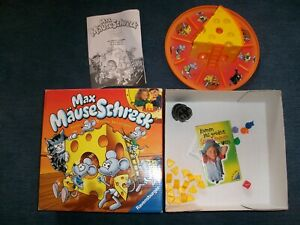Ravensburger MAX MÄUSESCHRECK Ersatzteil Käseecken 2 Stück pro Auktion