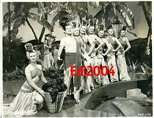 CARLOS RAMIREZ Vintage Original 1946 Photo NIGHT AND DAY & Signed AUTOGRAPH Leaf