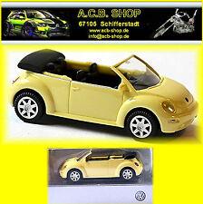 VW Volkswagen New Beetle Cabrio Cabriolet 2003-05 lemon 1:87 WI 032