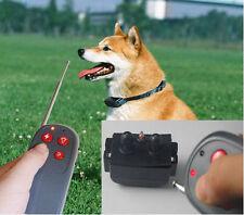 4 IN 1 training collar Remote Pet Training Vibra & Electric Shock CE Dog GA