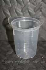 100 x 100ml TriPour Measuring Beaker Plastic Tri pour Laboratory Job Lot New
