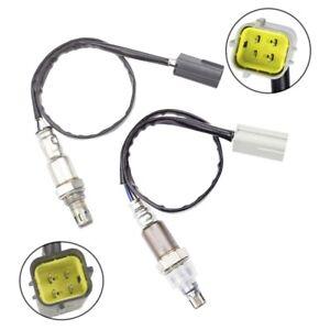 2PCS Oxygen O2 Sensor For 2007-2013 Nissan X-Trail T31 QR25DE Pre-Cat + Post-Cat