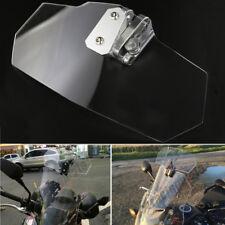 Clip On High Windshield Spoiler For BMW Ducati Honda Kawasaki KTM Suzuki Yamaha