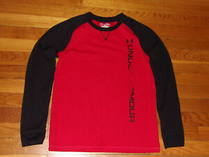 UNDER ARMOUR COLDGEAR LONG SLEEVE THERMAL SHIRT BOYS LARGE 14-16 EXCELLENT