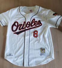 Cal Ripken Jr Autographrd Signed Authentic M&N Baltimore Orioles Jersey 48 NWT
