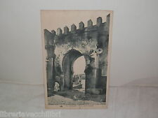 Vecchia cartolina foto d epoca di TANGER Porte de la Casbah arco Marocco di