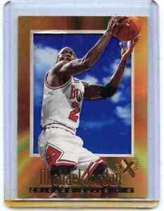 1996-97 SKYBOX E-X2000 #9 MICHAEL JORDAN, CHICAGO BULLS, HOF, 101521