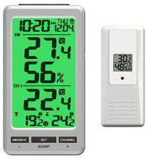 Termometro Radio ft0088 incl. 1 Radio Sensore temperatura umidità dell'aria