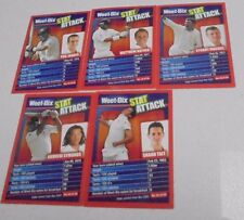 Stat Attack Weet Bix Cricket Australia Cricket Trading Cards 5 of -Weetbix 2007