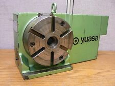"""YUASA SPDX-6HS 7"""" Diameter Programmable Indexer Rotary Table"""