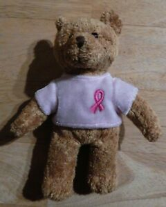 Avon Breast Cancer Awareness Plush Bear Beanbag