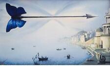 "Vladimir Kush         ""Arrow of Timel""    2004  Giclee on Canvas"