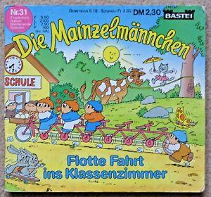 DIE MAINZELMÄNNCHEN Flotte Fahrt ins Klassenz altes Bastei Mini Buch13 x13,5 cm