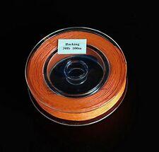 30 lb (environ 13.61 kg) Orange Fly Line Backing (100yds)