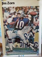 Jim Zorn Seattle Seahawks Large Poster - Vintage