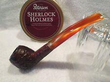 Medico 6mm Lucite Stem Rusticated Estate Tobacco Pipe